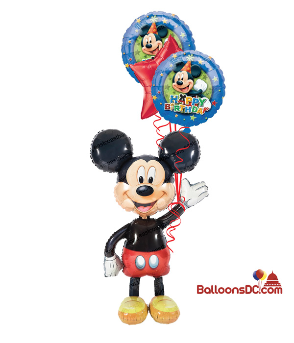 Mickey Mouse Airwalker Birthday